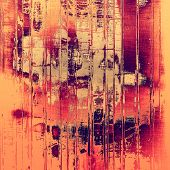 Old, grunge background texture. With different color patterns: purple (violet); red; orange; brown; yellow