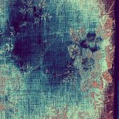 Vintage old texture for creative retro background. With different color patterns: blue; purple (violet); brown