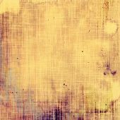 Antique vintage textured background. With different color patterns: yellow; brown; gray; purple
