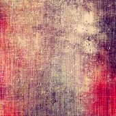 Old grunge template. With different color patterns: purple (violet); red; brown; yellow