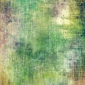 Vintage old texture for background. With different color patterns: green; brown; yellow