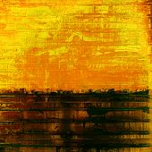 Grunge texture or background with space for text. With different color patterns: orange; brown; yellow