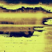 Grunge texture. With different color patterns: black; brown; yellow