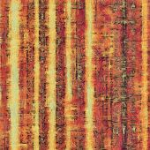 Antique vintage texture, old-fashioned weathered background. With different color patterns: orange; brown; yellow
