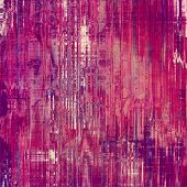 Antique grunge background with space for text or image. With different color patterns: purple (violet); pink