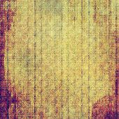 Art grunge vintage textured background. With different color patterns: purple (violet); brown; yellow