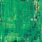 Colorful designed grunge background. With different color patterns: green; yellow