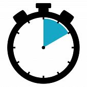 Stopwatch Icon: 10 Minutes / 10 Seconds / 2 Hours