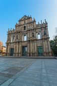 Ruins of St  Paul s - A famous tourist sightseeing in Macau