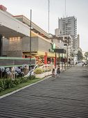 Shopping Outdoors In Pinamar Argentina
