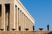 Ankara, Turkey - December 08, 2010: Ataturk Mausoleum, The Anitkabir, Tomb Of Mustafa Kemal Ataturk