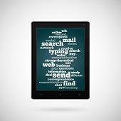 Conceptual tablet.