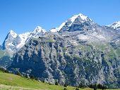 The Jungfrau in the Sun