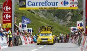 Mavic Car On Col Du Lautaret