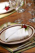 Exotic Theme Table Setting