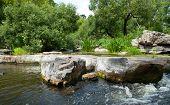 Granites In River