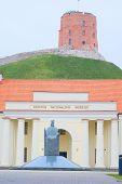 VILNIUS,LITHUANIA, November 17, 2014: view of the Vilnius city