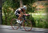 Ironman triathlon de Malasia 2009-ciclista