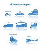 Different transport.
