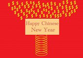Happy Chinese New Year Spring