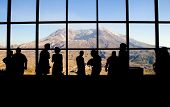 Mt. Saint Helens' Johnston Ridge Observatory