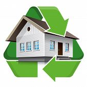 House Recycling Symbol