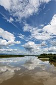 Beautiful Summer Landscape Of Kamchatka: Kamchatka River
