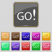 Go Sign Icon