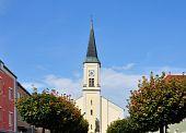 Kirche Heilig Kreuz In Osterhofen, Bayern