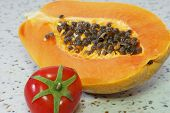 pic of pawpaw  - The papaya - JPG