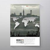 foto of shipyard  - Shipyard and city landscape - JPG