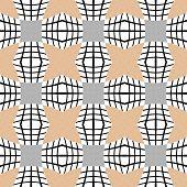 stock photo of quadrangles  - Design seamless checked pattern - JPG
