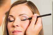 foto of makeup artist  - Work of make - JPG