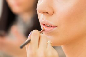 picture of lip  - Make up process - JPG