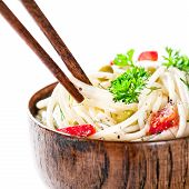 Asian Veg Noodles poster