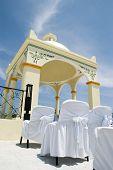 Caribbean Beach Wedding - Wedding Gazebo