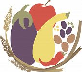 Vegetarian vegan harvest foods wheat legumes