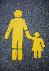 image of street-walker  - Traffic sign for walkers - JPG