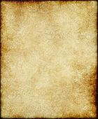 old paper or parchment background with faint paisley design