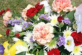 mixed bunch of flower