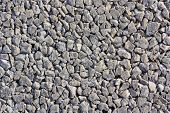 Concrete With Gravel Background
