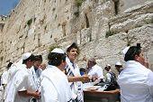 Jerusalem. A western wall
