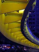 Bridge By Night From Below