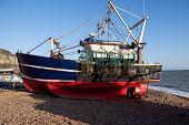 Trawler Fishing Boat Industry Hastings England