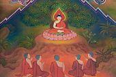 Buddha Biographie: üben stark