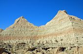 Escarpment Wall In The Badlands