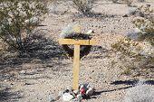Impromptu Shrine, Highway 40, Arizona