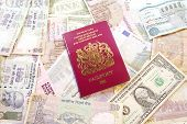 UK Passport on Various Currencies