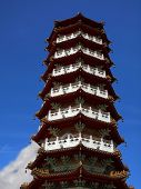 Chinese Pagoda In Taiwan