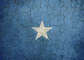 Grunge Somalia Flag